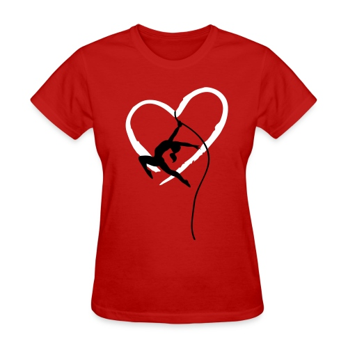 Aerial Love - Women's T-Shirt