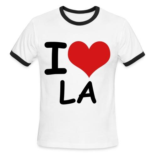 I love LA - Men's Ringer T-Shirt