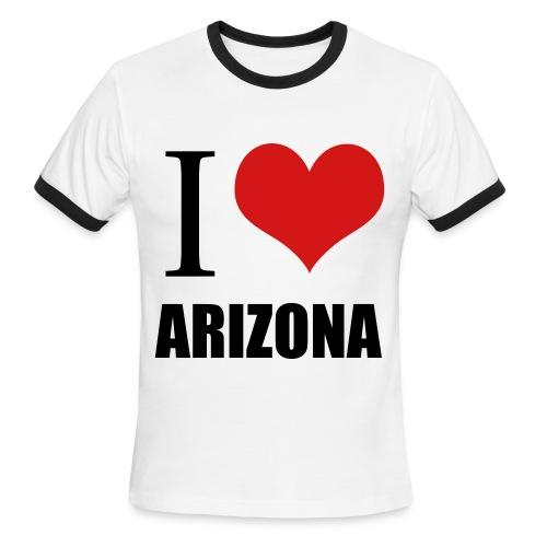I love Arizona  - Men's Ringer T-Shirt