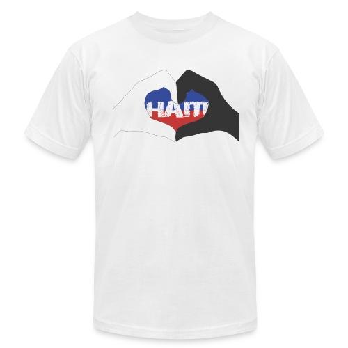 love haiti relationship- men's tee - Men's  Jersey T-Shirt