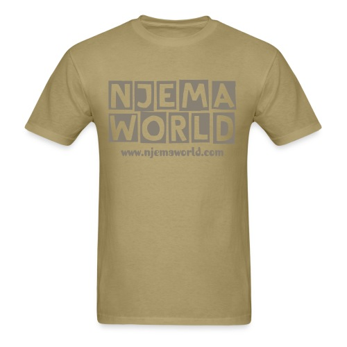 Njema World Mens Tee  - Men's T-Shirt