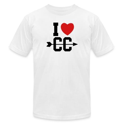 I love CC - Men's Fine Jersey T-Shirt