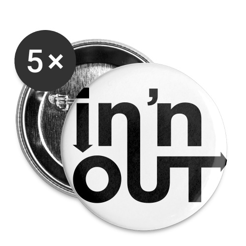 In 'n' Out - Small Buttons