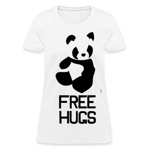 Free Hugs (Ladies) - Women's T-Shirt