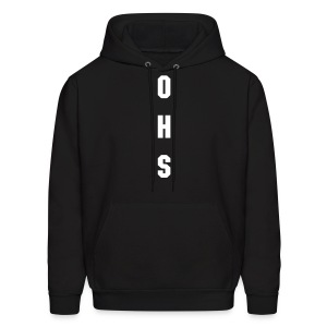 OHS Hoodie (Back and front) - Men's Hoodie
