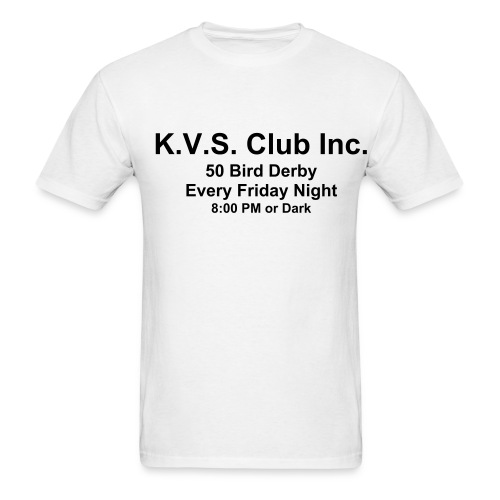 50 Bird Derby Shirt - Men's T-Shirt
