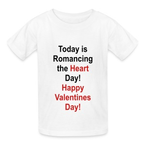 Happy Valentines Day - Kids' T-Shirt