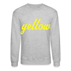 Yellow - Crewneck Sweatshirt