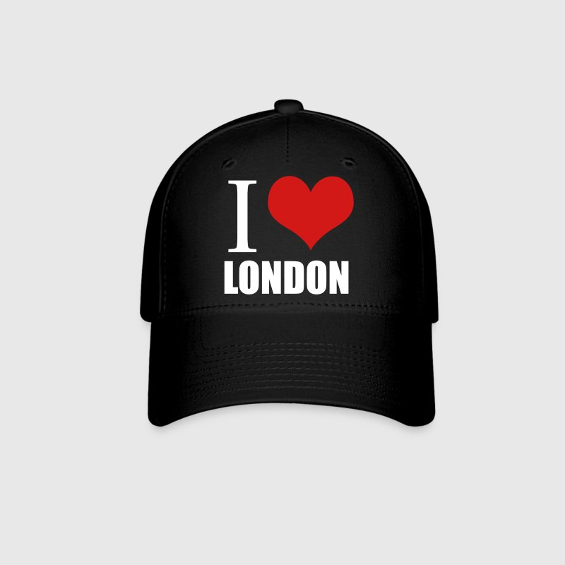 Black i love london Caps - Baseball Cap