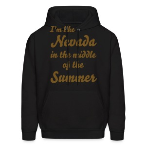 Nevada in the middle of the summer - Men's Hoodie