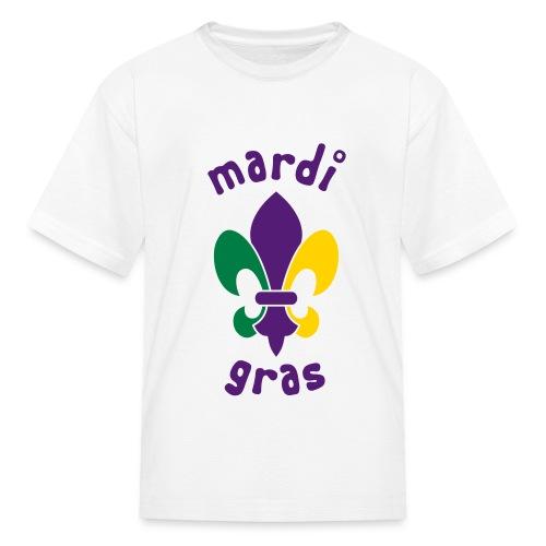 kids mardi gras - Kids' T-Shirt