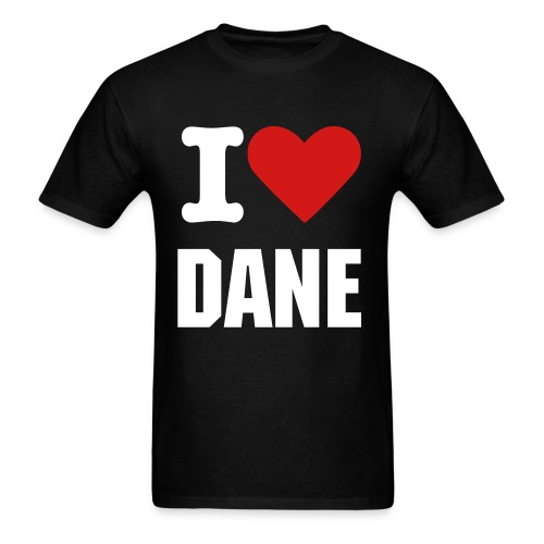 I HEART DANE - Men's T-Shirt