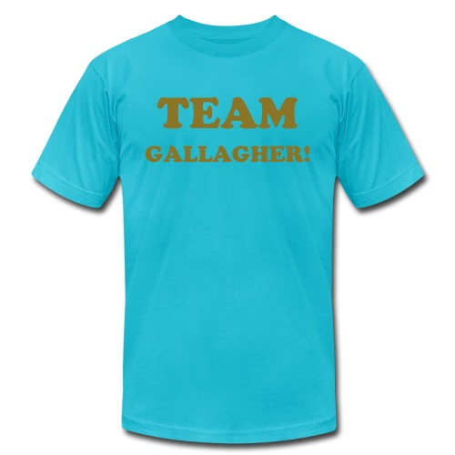 Mens Team Gallagher! Crew neck Tshirt - Men's Fine Jersey T-Shirt