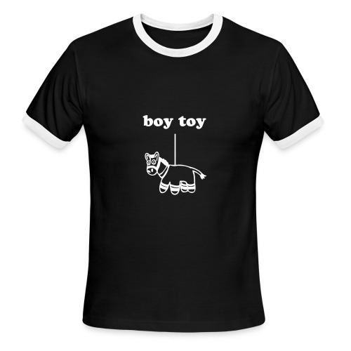 boy toy - Men's Ringer T-Shirt