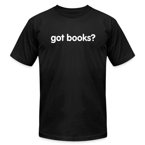 got books? - Men's Fine Jersey T-Shirt