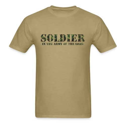 Soldier In The Army Of The Lord - Men's T-Shirt