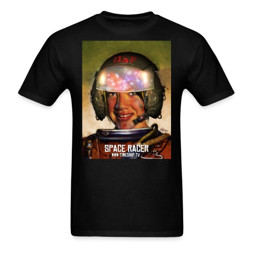 Space Racer - Men's T-Shirt