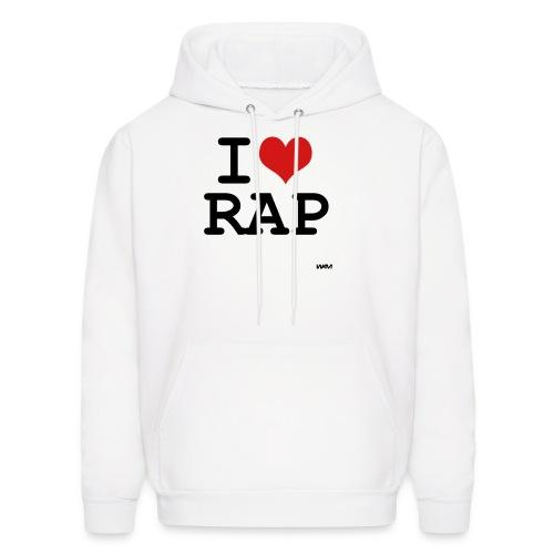 I Love Rap - Men's Hoodie