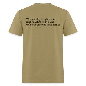 Rough Men Stand Ready - Men's T-Shirt