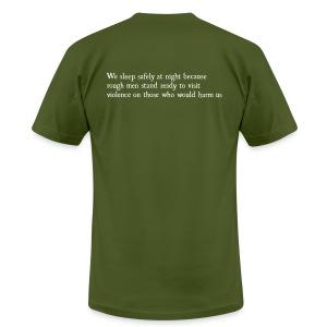 Rough Men Stand Ready - Men's Fine Jersey T-Shirt
