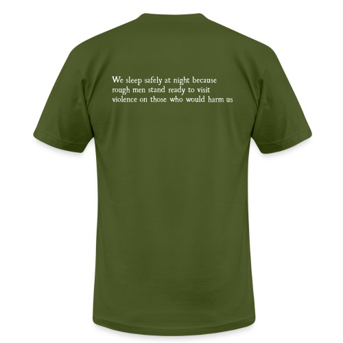 Rough Men Stand Ready - Men's Fine Jersey T-Shirt