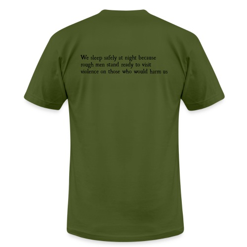 Rough Men Stand Ready - Men's  Jersey T-Shirt