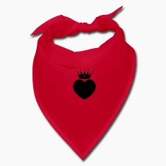 Red heart crown Other