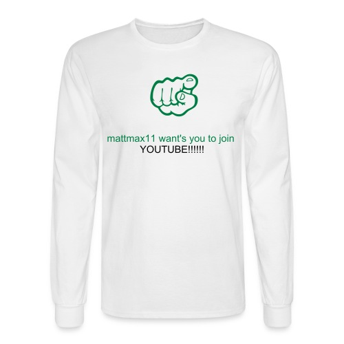 join youtube shirt - Men's Long Sleeve T-Shirt