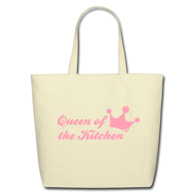 Creme queen of the kitchen Bags