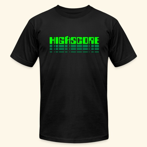 Highscore2 (neon) - Men's Fine Jersey T-Shirt