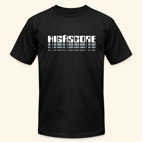 Highscore2 (silver) - Men's Fine Jersey T-Shirt