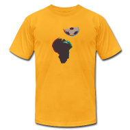 T-Shirts ~ Men's T-Shirt by American Apparel ~ 2010 World Cup South Africa t-shirt