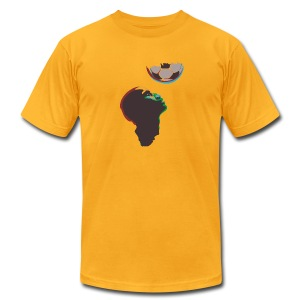 2010 World Cup South Africa t-shirt - Men's T-Shirt by American Apparel