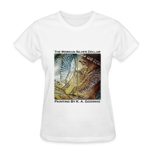 Morgan Silver Dollar Reverse Women's T-shirt - Women's T-Shirt