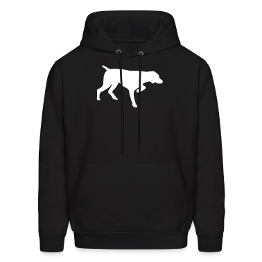 Black GERMAN SHORTHAIRED POINTER Hoodies