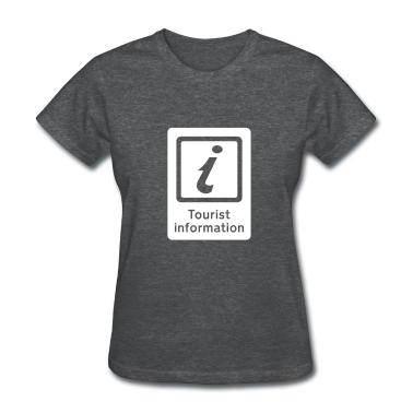 Deep heather Tourism - Tourist Information Women's T-Shirts
