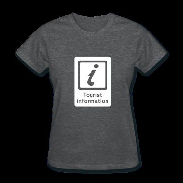 Deep heather Tourism - Tourist Information Women's T-Shirts