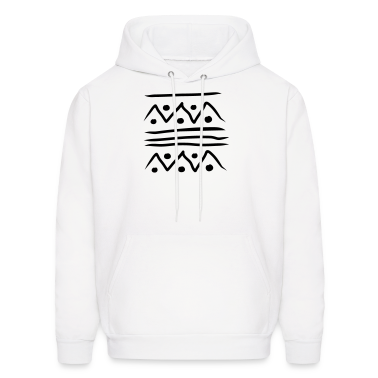 White African design 01 Hoodies