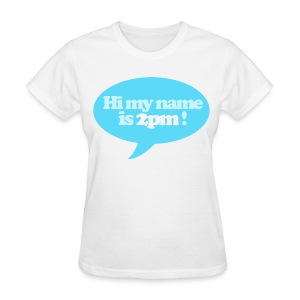 [2PM] Hi My Name is 2PM - Women's T-Shirt