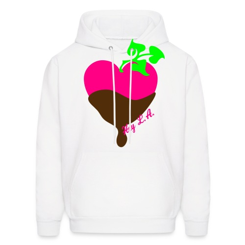 chocolate hearts - Men's Hoodie