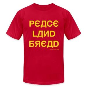 Peace Land Bread - Men's Fine Jersey T-Shirt