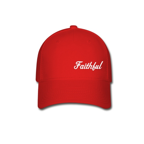 Red Cap with White - Baseball Cap