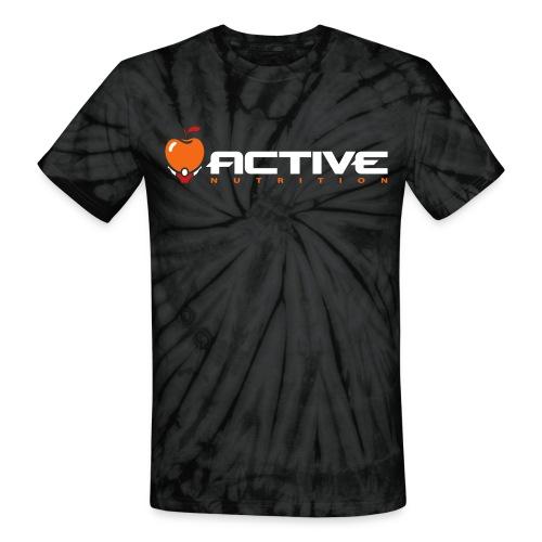Active Tie Dye Black - Unisex Tie Dye T-Shirt