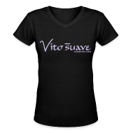 T-Shirts ~ Women's V-Neck T-Shirt ~ Women Vito Suave