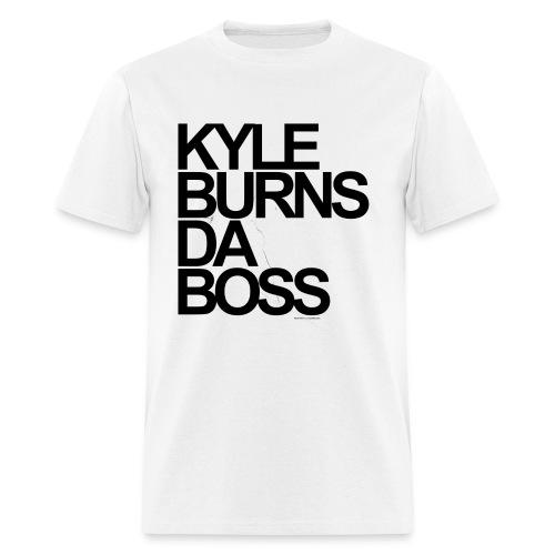 Kyle Burns Da Boss T-Shirt - Men's T-Shirt