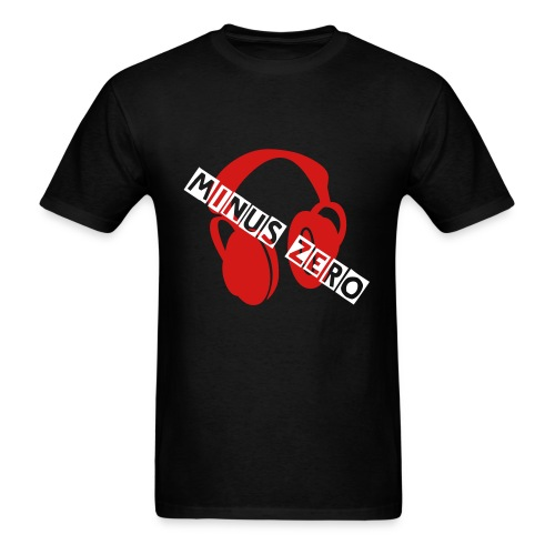 Minus ZERO Headphones T-Shirt - Men's T-Shirt