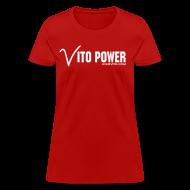 Women's T-Shirts ~ Women's T-Shirt ~ Women Vito Power !!