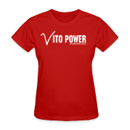 Women's T-Shirts ~ Women's T-Shirt ~ Women Vito Power !!