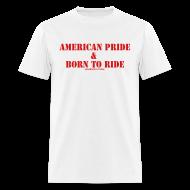 T-Shirts ~ Men's T-Shirt ~ Men American Pride Tee