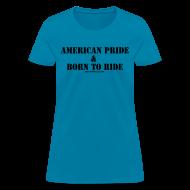 T-Shirts ~ Women's T-Shirt ~ Men American Pride Tee
